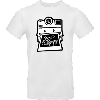 FilmenLernen.de Monstermatic T-Shirt B&C EXACT 190 -  White