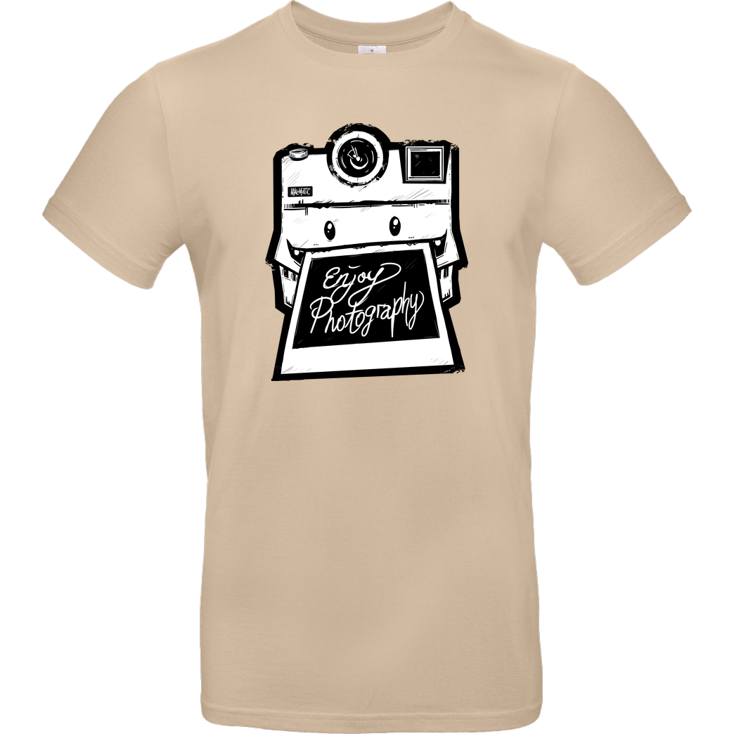 FilmenLernen.de Monstermatic T-Shirt B&C EXACT 190 - Sand