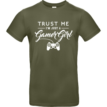 Gamer Girl white