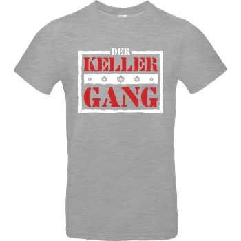 Der Keller Der Keller - Gang Logo T-Shirt B&C EXACT 190 - heather grey