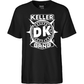 Der Keller Der Keller - Gang Cracked Logo T-Shirt Fairtrade T-Shirt - black