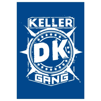 Der Keller - Gang Cracked Logo white