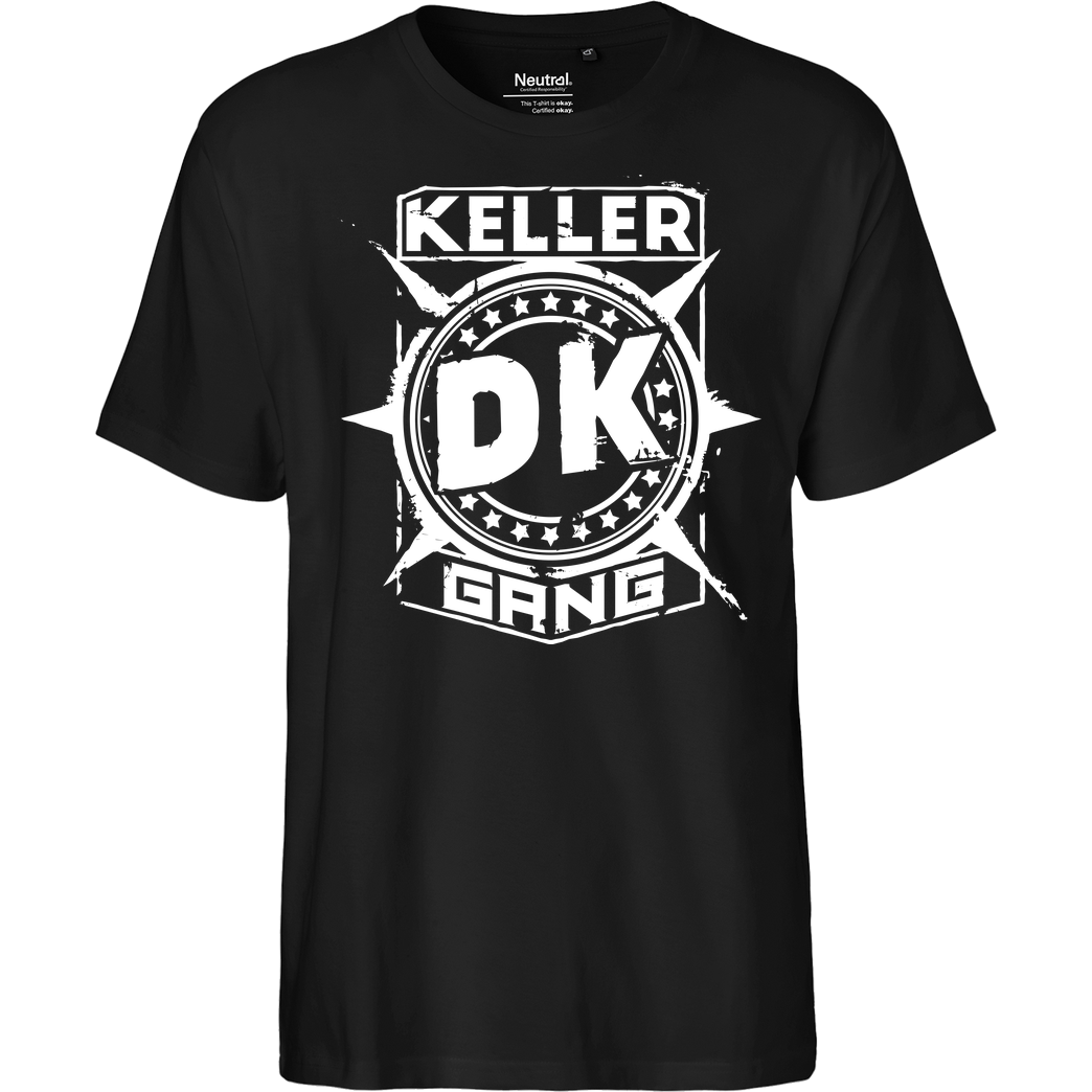 Der Keller Der Keller - Gang Cracked Logo T-Shirt Fairtrade T-Shirt