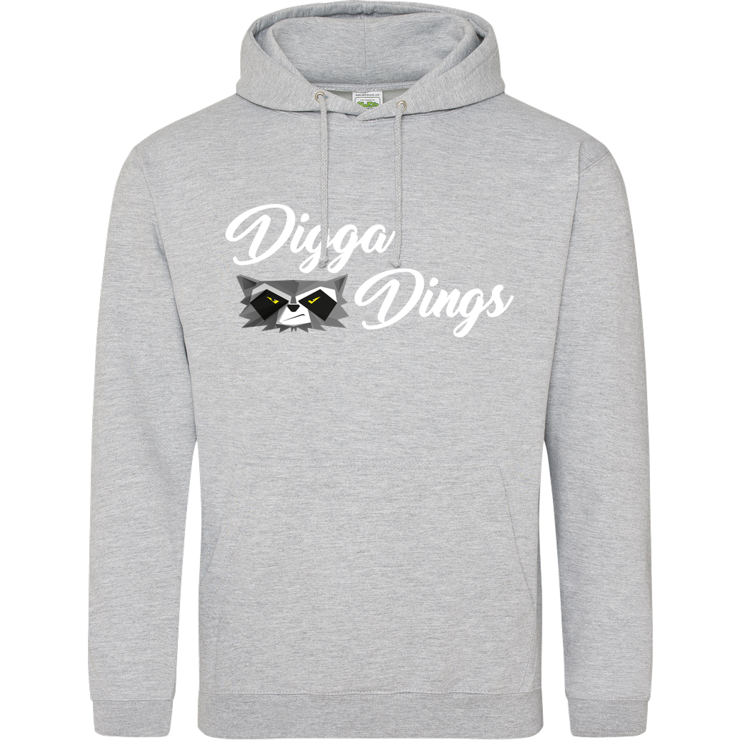 Shlorox Shlorox - Digga Dings Sweatshirt JH Hoodie - Heather Grey