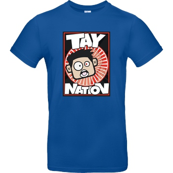 MasterTay MasterTay - Tay Nation T-Shirt B&C EXACT 190 - Royal Blue
