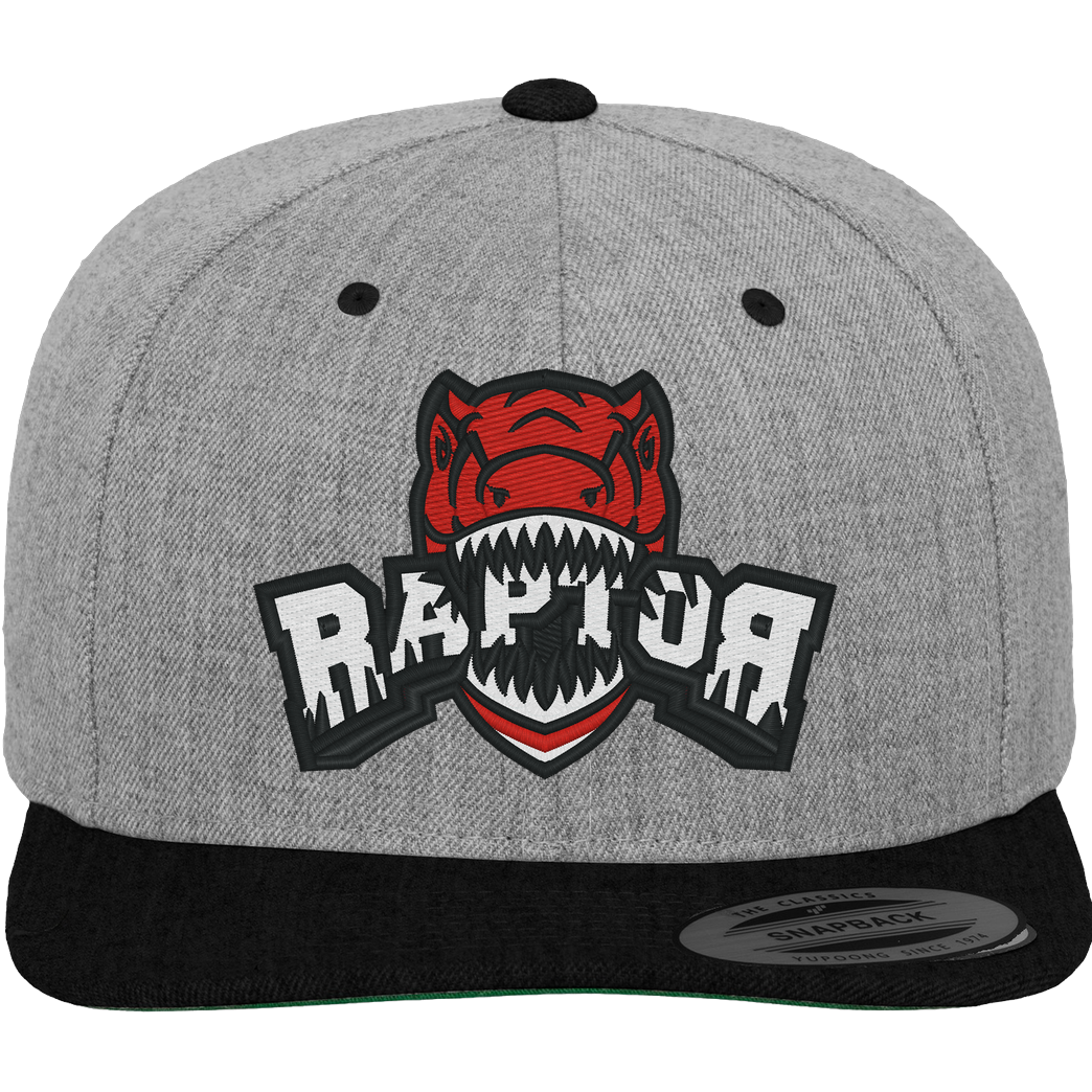Raptor Raptor - Cap Cap Cap heather grey/black