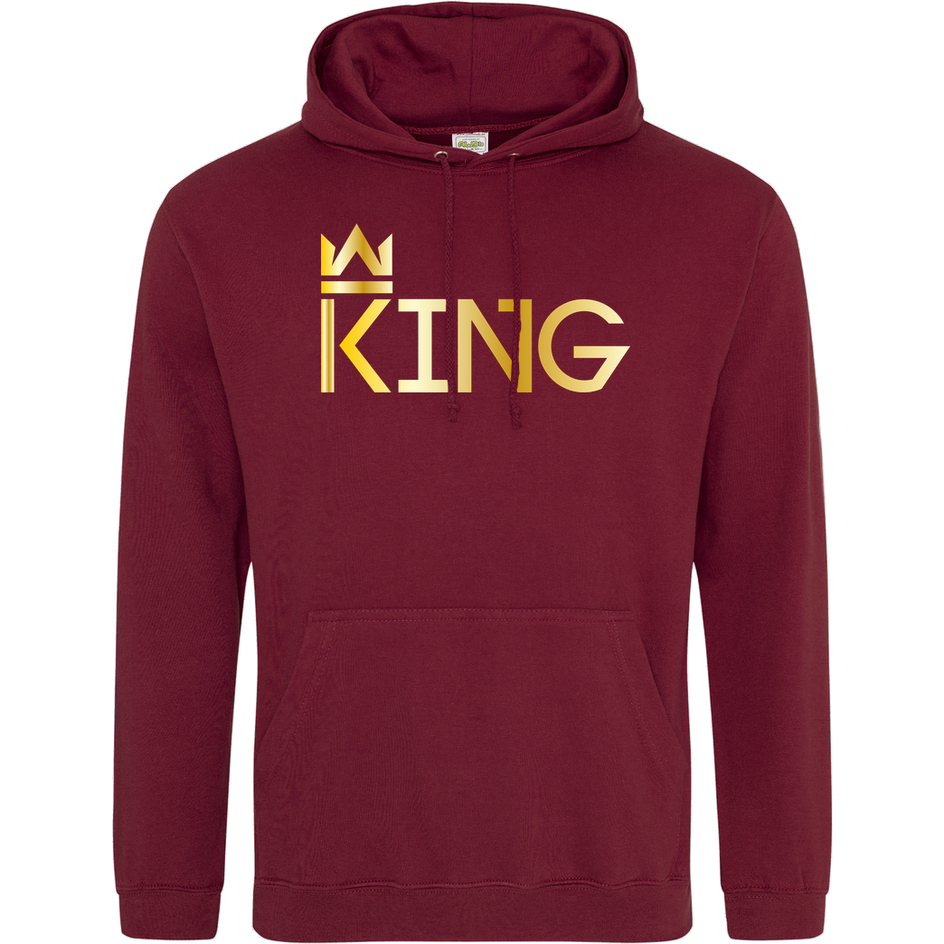MarcelScorpion MarcelScorpion - King Sweatshirt JH Hoodie - Bordeaux
