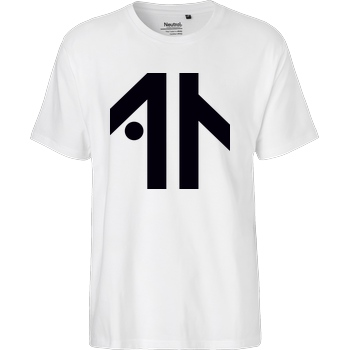 Dustin Dustin Naujokat - Logo T-Shirt Fairtrade T-Shirt - white