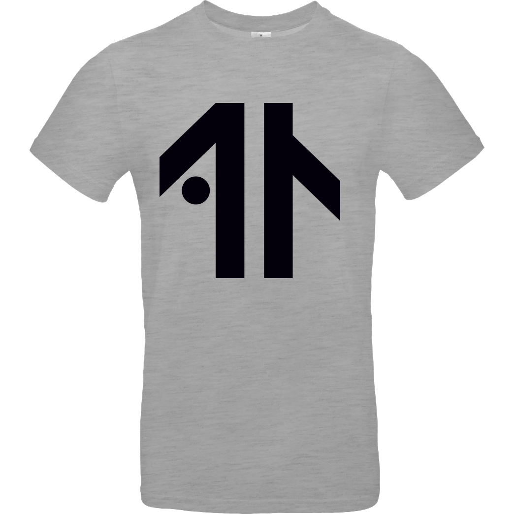 Dustin Dustin Naujokat - Logo T-Shirt B&C EXACT 190 - heather grey