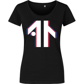 Dustin Dustin Naujokat - Colorway Logo T-Shirt Girlshirt schwarz