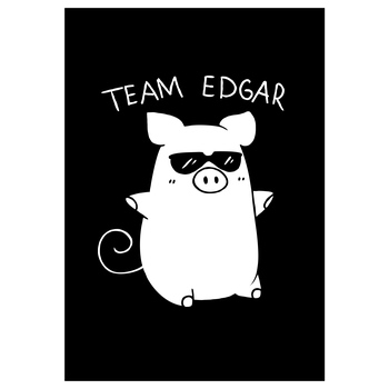 Paluten Paluten - Team Edgar Druck Art Print black