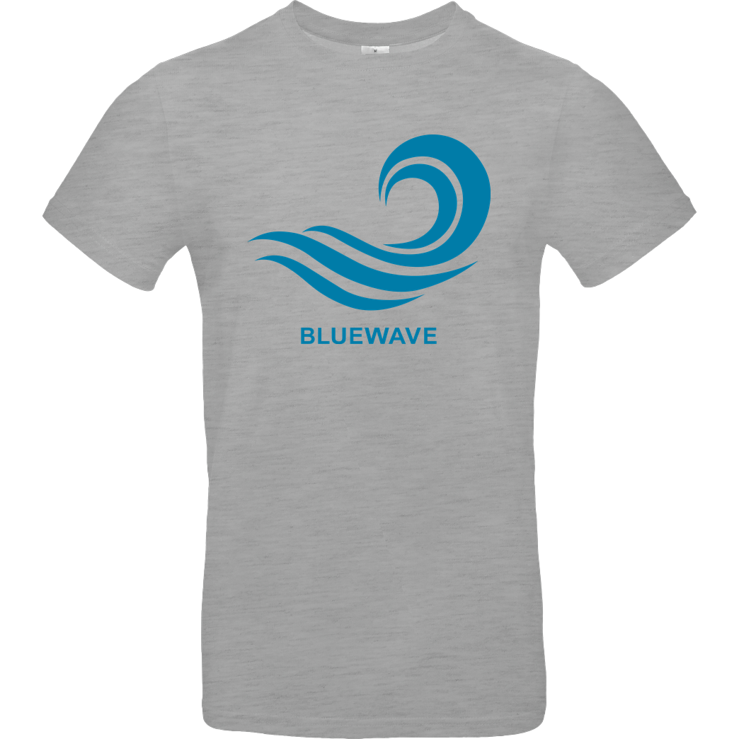 Team Prismatic Team Prismatic - Blue Wave T-Shirt B&C EXACT 190 - heather grey