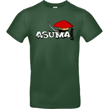 AsumaCC AsumaCC - Army T-Shirt B&C EXACT 190 -  Bottle Green
