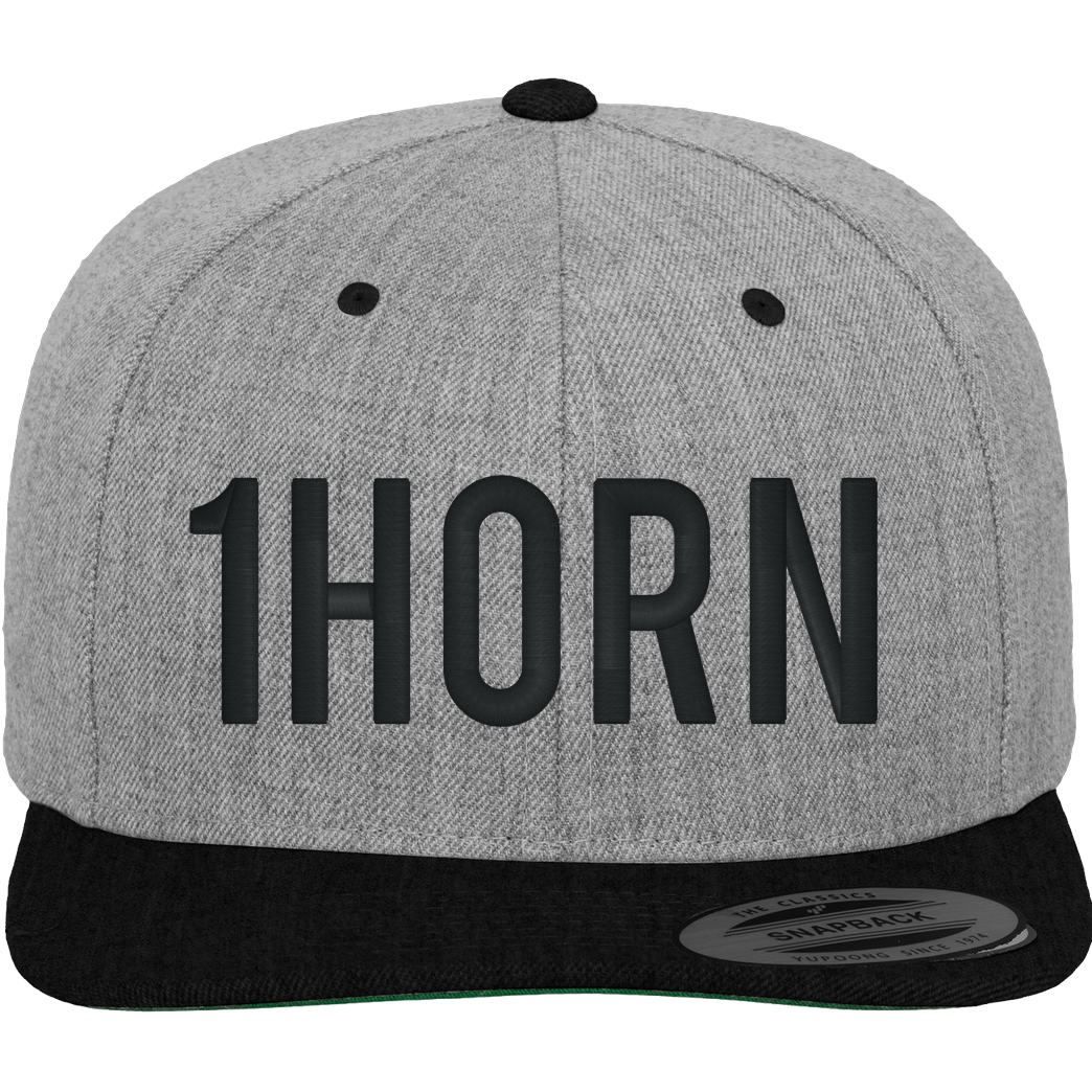 None 1horn Cap Cap heather grey/black