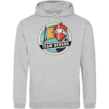 DoctorBenx DoctorBenx - Team Benson Sweatshirt JH Hoodie - Heather Grey