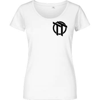 TomsTopic TomsTopic - TT T-Shirt Girlshirt weiss