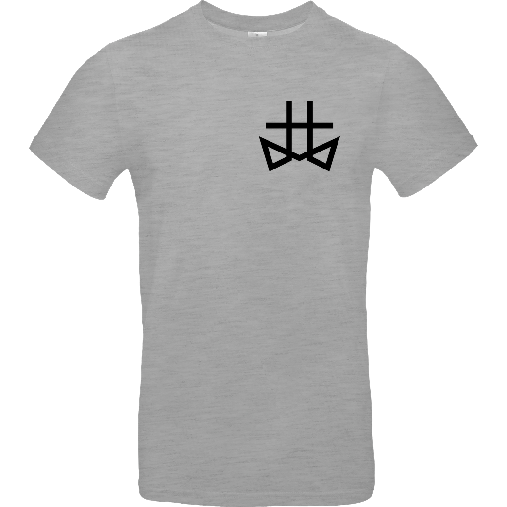 TomsTopic TomsTopic - Crosses T-Shirt B&C EXACT 190 - heather grey