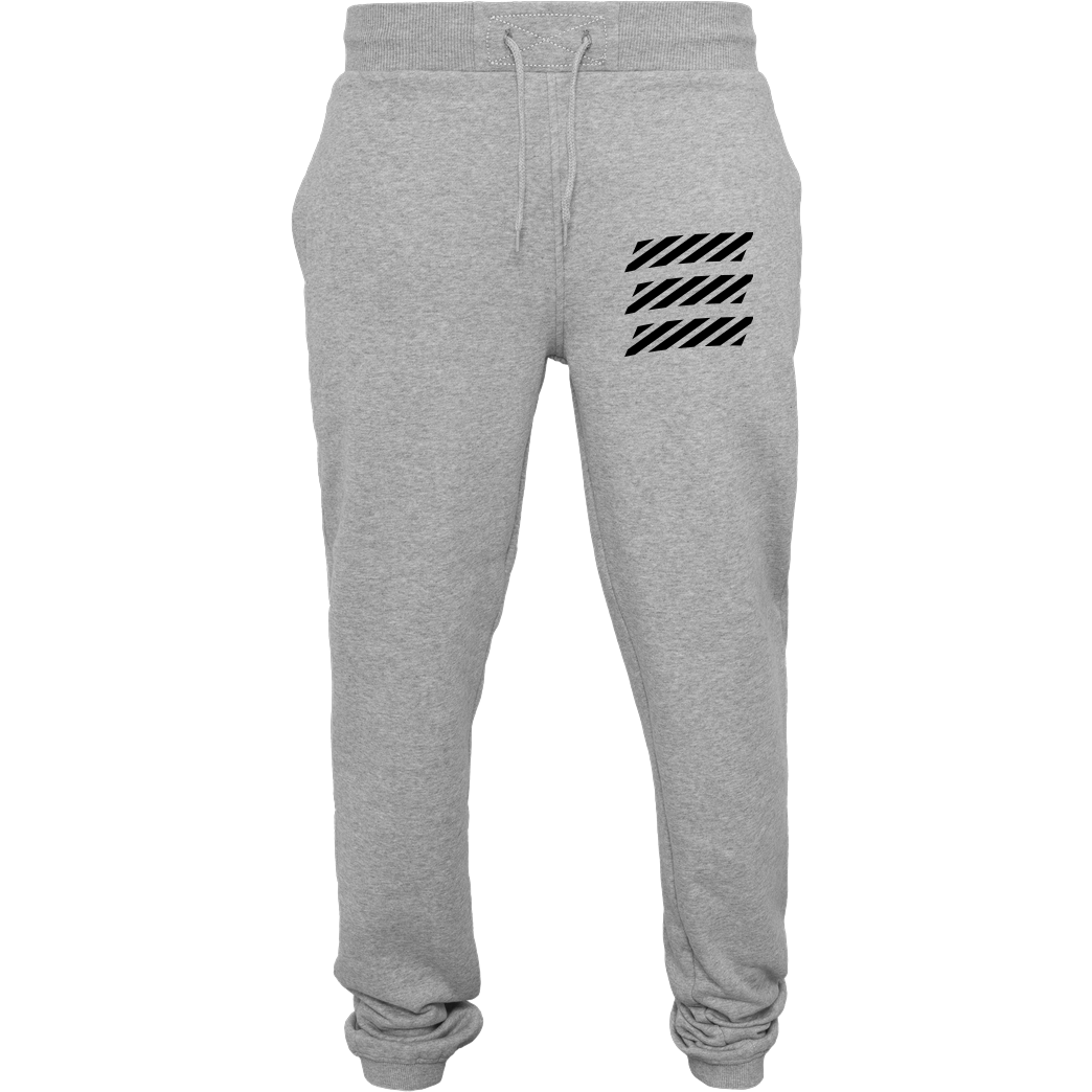 Echtso Echtso - Striped Logo Sonstiges Jogginghose heather grey