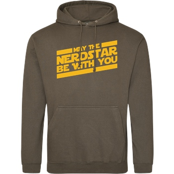 NerdStar - May the NerdStar be with you yellow