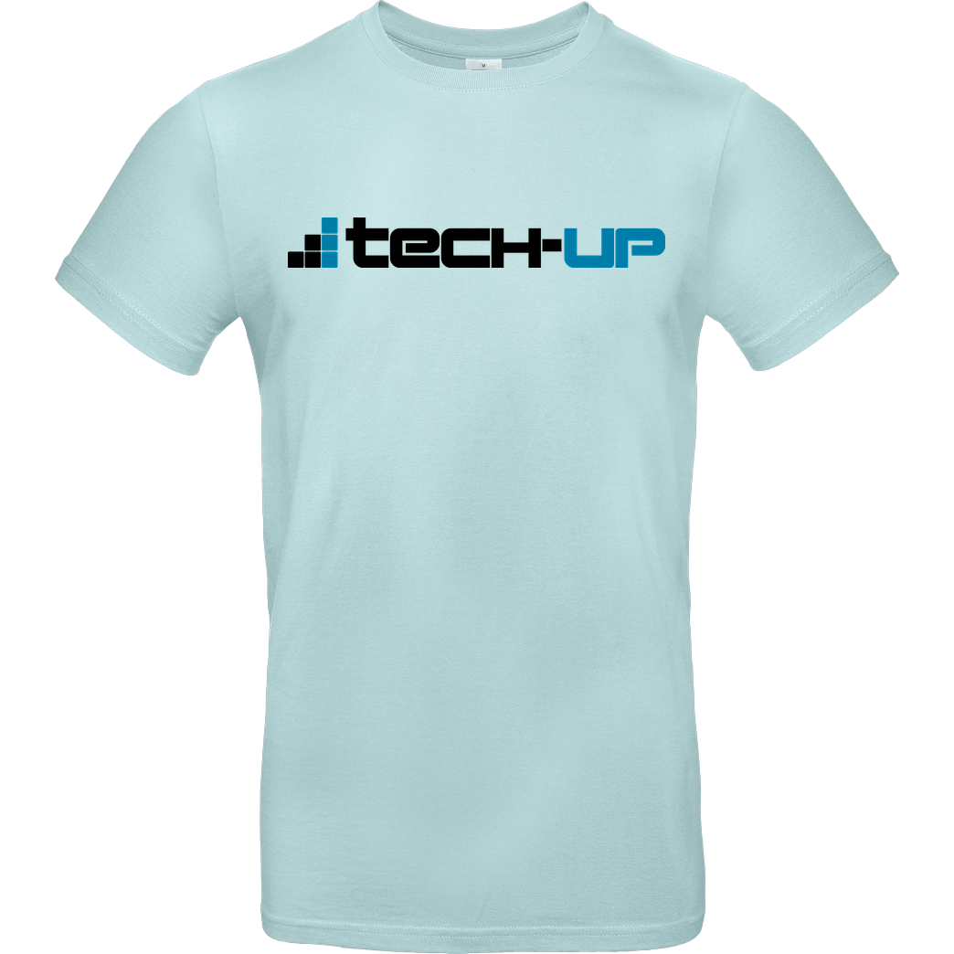PC-WELT PC-Welt - Tech-Up Logo T-Shirt B&C EXACT 190 - Mint