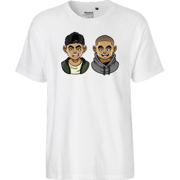 Kelvin und Marvin Kelvin und Marvin - Character T-Shirt Fairtrade T-Shirt - white