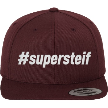 Smexy - #supersteif Cap white
