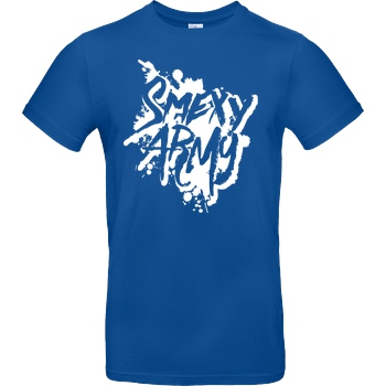 Smexy Smexy - Army T-Shirt B&C EXACT 190 - Royal Blue
