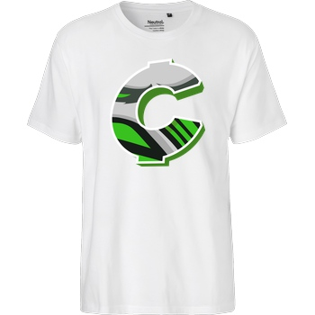 C0rnyyy C0rnyyy - Logo T-Shirt Fairtrade T-Shirt - white