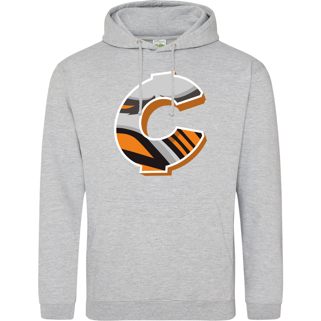 C0rnyyy C0rnyyy - Logo Sweatshirt JH Hoodie - Heather Grey
