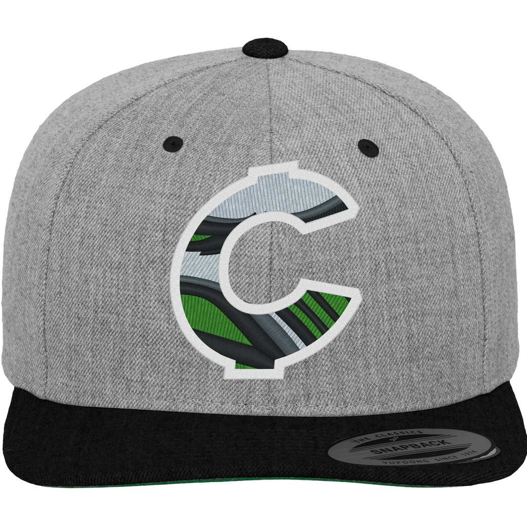C0rnyyy C0rnyyy - Logo Cap Cap Cap heather grey/black