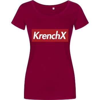 Krench Royale Krencho - KrenchX new T-Shirt Damenshirt berry