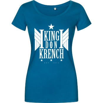 Krench Royale Krencho - Don Krench Wings T-Shirt Damenshirt petrol