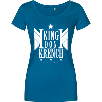 Krencho - Don Krench Wings Damenshirt petrol