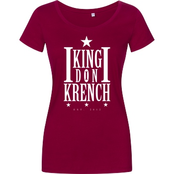 Krench Royale Krencho - Don Krench T-Shirt Damenshirt berry