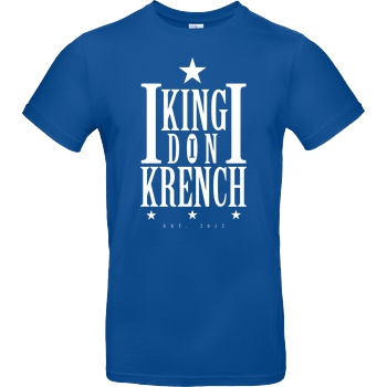 Krench Royale Krencho - Don Krench T-Shirt B&C EXACT 190 - Royal