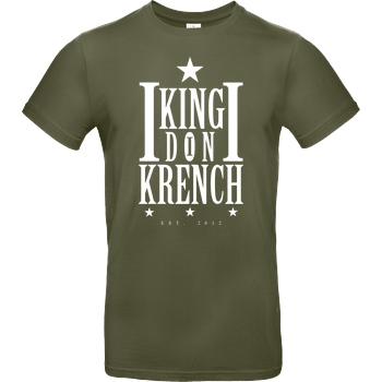 Krench Royale Krencho - Don Krench T-Shirt B&C EXACT 190 - Khaki