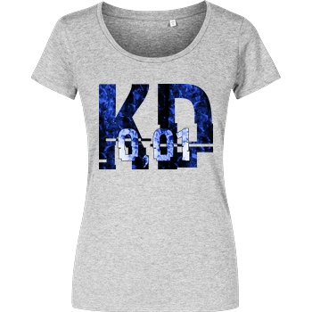 Krench Royale Krencho - Blue Matter T-Shirt Girlshirt heather grey