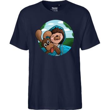 EpicStun EpicStun - Hundi T-Shirt Fairtrade T-Shirt - navy