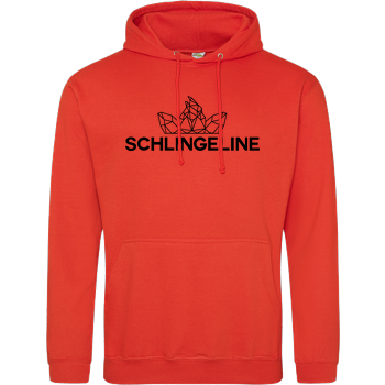 Sephiron - Schlingeline Polygon JH Hoodie - Orange