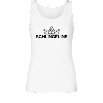 Sephiron Sephiron - Schlingeline Polygon T-Shirt Girl Tank Top white
