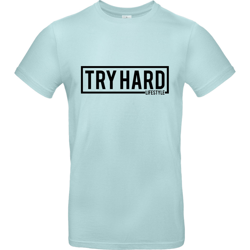 MarcelScorpion MarcelScorpion - Try Hard Lifestyle T-Shirt B&C EXACT 190 - Mint