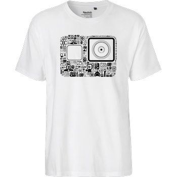 FilmenLernen.de GP T-Shirt Fairtrade T-Shirt - white
