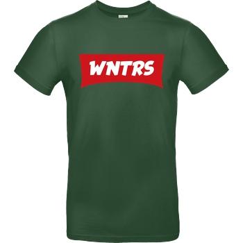 WNTRS WNTRS - Red Label T-Shirt B&C EXACT 190 - Flaschengrün