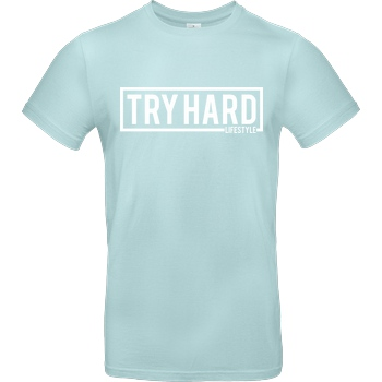 MarcelScorpion Marcel Scorpion - Try Hard Lifestyle T-Shirt B&C EXACT 190 - Mint