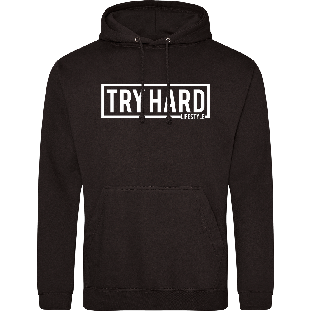 MarcelScorpion Marcel Scorpion - Try Hard Lifestyle Sweatshirt JH Hoodie - Schwarz
