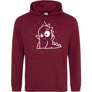 Stegi - Happy Sweater JH Hoodie - Bordeaux