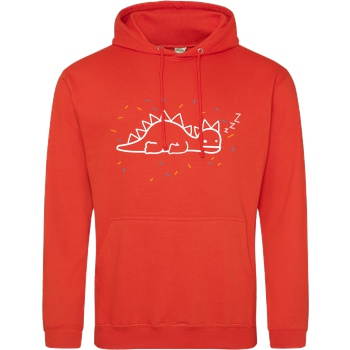 byStegi Stegi - Sleeping Sweater Sweatshirt JH Hoodie - Orange