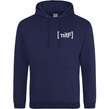 Gustaf Gabel - mit F Embroidered JH Hoodie - Navy