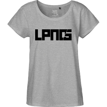 LPN05 LPN05 - LPN05 T-Shirt Fairtrade Loose Fit Girlie - heather grey