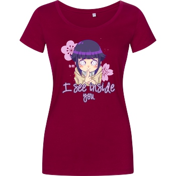 PsychoDelicia I See Inside You T-Shirt Girlshirt berry